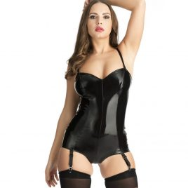 Easy-On Latex Leotard Body