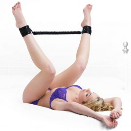 Bondage Boutique Black Rose 20 inch Spreader Bar