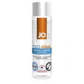System JO H2O Warming Anal Lubricant 4.0 fl oz