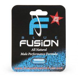 Blue Fusion Male Enhancement Dietary Supplement (1 Capsule)