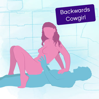 Position of the week: Backwards Cowgirl