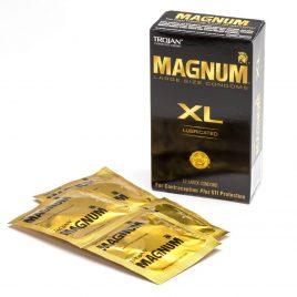 Trojan Magnum XL Condoms (12 Count)