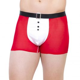 Escante Red Mr Santa Christmas Boxer Shorts