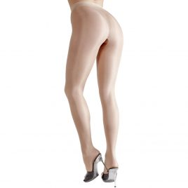 Cottelli Nude Crotchless Pantyhose
