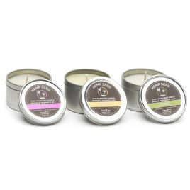 Earthly Body Trio 3-in-1 Mini Massage Candles (3 x 2oz Pack)