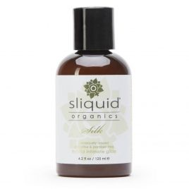 Sliquid Organics Natural Silk Hybrid Lubricant 4.2 fl oz