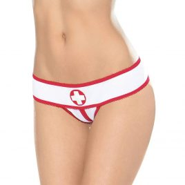 Escante Crotchless Nurse Panties