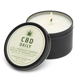 CBD Daily Massage Candle 6oz