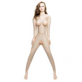 Horny Quella Realistic Vagina and Ass Vibrating Inflatable Sex Doll 112oz