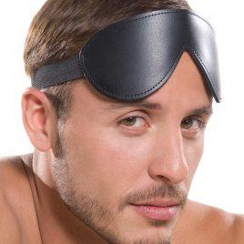 KinkLab Bondage Basics Padded Leather Blindfold