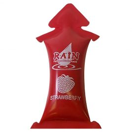 Rain Strawberry Personal Lubricants Singles - 8 pack