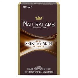 Trojan Natural Lamb Condoms - 30-Pack
