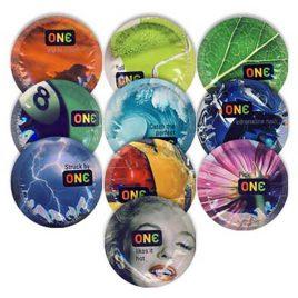 ONE Color Sensations Condoms - 100-pack