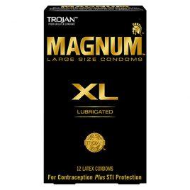 Trojan Magnum XL Lubricated Condoms - 36-Pack