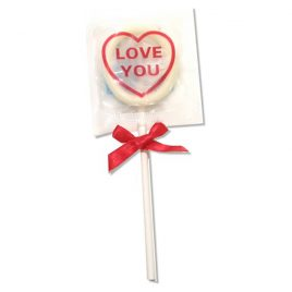 Global Protection Love You Condom Pops - 6-Pack