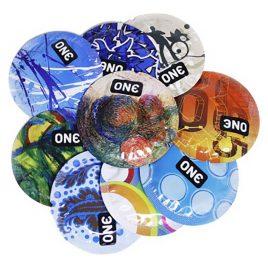 ONE Classic Select Designer Condoms - 100-pack