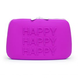 Happy Rabbit HAPPY Large Silicone Zipper Storage Case