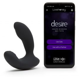 Desire Luxury App-Controlled Rechargeable Prostate Vibrator