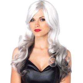 Leg Avenue Allure Long Wavy Grey Ombre Wig