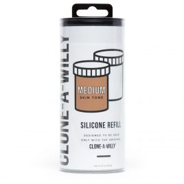 Clone-A-Willy Medium Skin Tone Silicone Refill