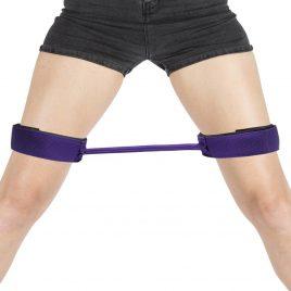 Purple Reins 12 Inch Thigh Spreader Bar