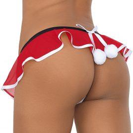 Escante Santa Pom-Pom G-String